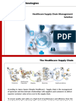 Healthcare Supply Chain Management Solution