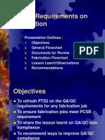 QAQC Requirement