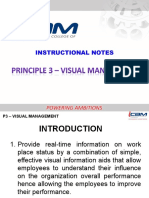 Principles 3 Visual Management