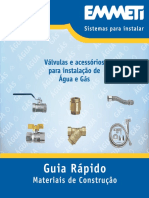 Folder Guia Rápido - Materiais de Construção-site