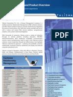 Talisma Corporate Brochure
