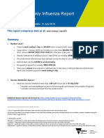 Weekly Influenza Report Week July 6