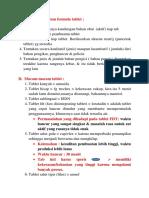 Urutan Pembuatan Formula Tablet