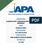 TRABAJO FINAL PLANIFICACION Y ORGANIZACION DE NUEVAS EMPRESAS medina.docx