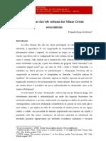 MORAES-Urdiduras Da Rede Urbana Das Minas Gerais