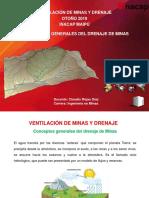 Ventilación de Minas y Drenaje - Conceptos Generales Del Drenaje de Minas