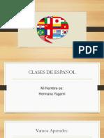 Clase Español