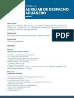 Adex - Auxiliar Despacho Mañana