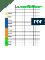 Cronograma Vacacional 2014 Operarios