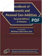 Handbook of  Cosmetic and Personal Care  Additives,  Volume 1 and 2