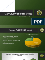 2019-2020 Clay County Budget Presentation