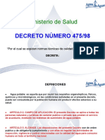 decreto 475/98