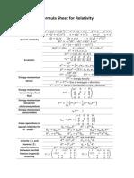 GR FormulaSheet