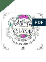 Caligrafia Para Relaxar Amy Latta