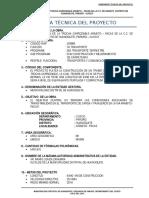 Ficha Tecnica Obra Paccas - Arabito