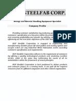 HDP Steelfab Corp-Company Profile