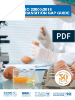 NQA ISO 22000 Transition Gap Guide
