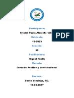 354606753 Tarea 4 de Derecho Constitucional y Politico
