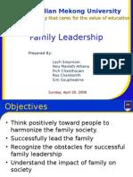 Family Leadership