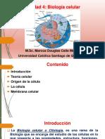 Unidad 4, Biología Celular