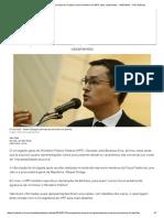 Corregedor Diz Que Arquivou 4 Ações Contra Membros Do MPF Após Vazamentos - 16-07-2019 - UOL Notícias