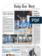 The Daily Tar Heel for November 10, 2010