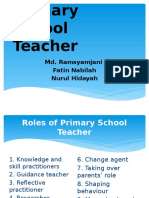 326244253 Roles of Primary School Teacher