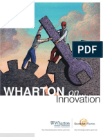 Wharton on Innovation