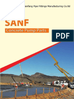 Catalog of SANF Concrete Pump Parts