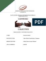 Negociación y Convenio Colectivo