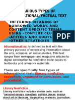 Various Types of Informational Texts.pptx