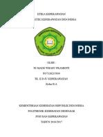 Etika Keperawatan - Kode Etik Keperawatan Indonesia