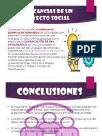 Implicancias de Un Proyecto Social