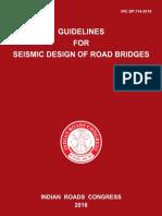 IRC-SP-114-Seismic Design for Road Bridges