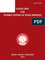 IRC-SP-114-Seismic Design for Road Bridges