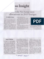 Malaya, July 17, 2019, Salceda No lump sum allocations in 2019 budget.pdf