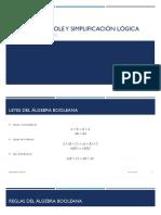 5. Algebra de Boole - Simplificacion