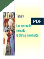 Cap. 4 Las Fuerzas Del Mercado Oferta y Demanda