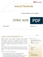 OGA_Chemical Series_Citric Acid Market Outlook 2019-2025