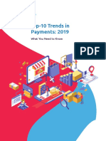 Top 10 Trends 2019 in Payments