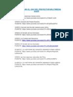 Links Proyector Multimedia