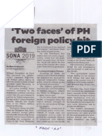Philippine Daily Inquirer, July 17, 2019, Two faces of PH foreign policy hit.pdf