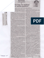 Philippine Star, July 17, 2019, Cha-Cha For federal or selfish politics.pdf