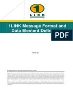 1LINK Technical Document - Data Element Definitions and Message Format v5.7