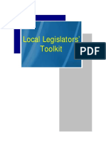 LocalLegislators'Toolkit