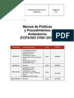 Manual de Politicas Procedimientos Antisoborno Es-2