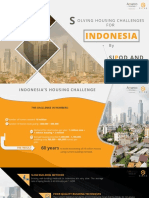 Solving Indonesia housing crisis - by Amarco