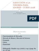 Clase Demanda y Oferta 2018