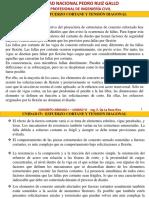 UNIDAD VI-VII ESFUERZO CORTANTE Y TENSIÓN DIAGONAL_ADHERENCIA Y LONGITUD DE DESARROLLO-2016-I (2).pdf