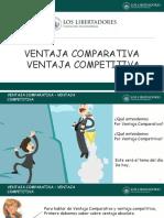 Ventaja Comparativa y Ventaja Competitiva